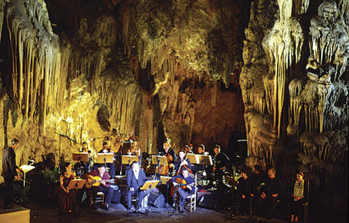 Audioguide of Nerja -Festival in the cave
