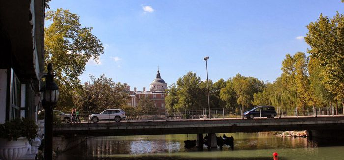 Aranjuez audio guide - The Boat Bridge