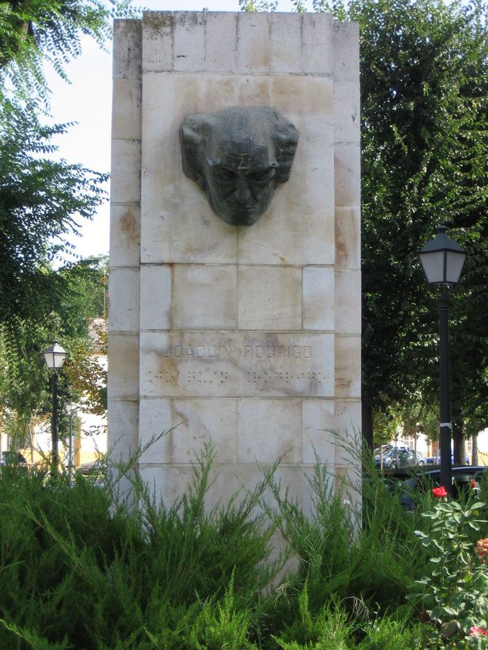 Aranjuez audio guide - The Monument to Joaquin Rodrigo