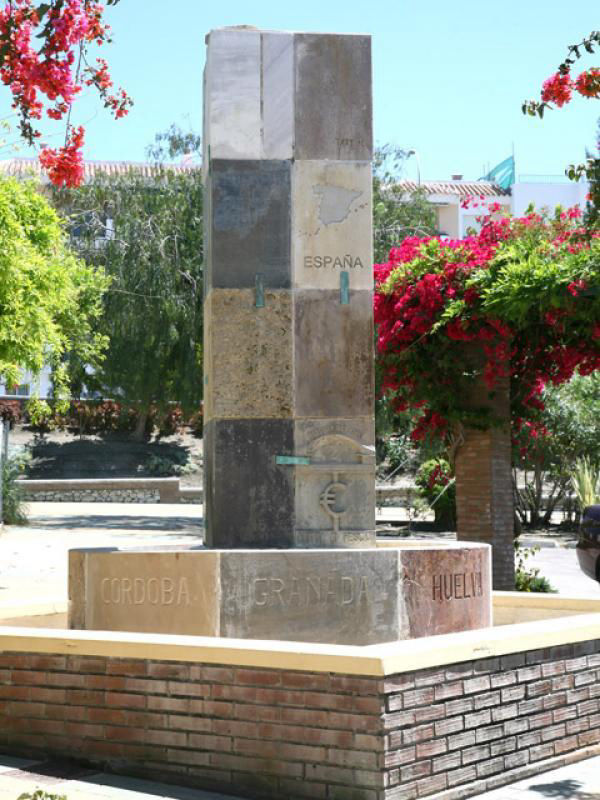 Audioguide of Nerja - The Europe Fountain