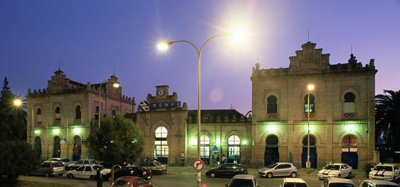 Audioguide of Huelva - the Seville Station