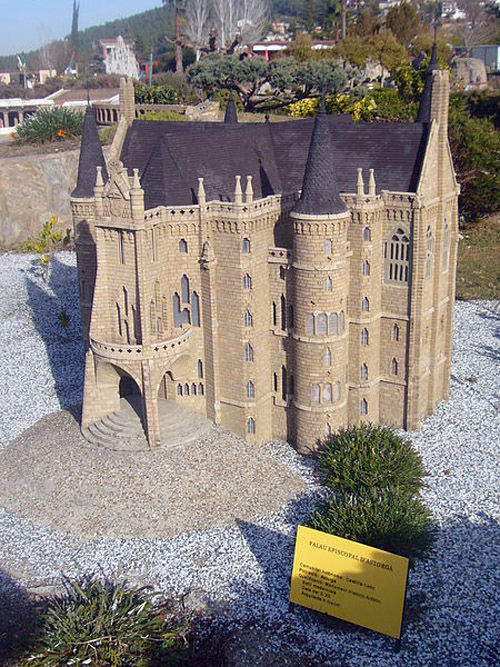 Audioguide of Catalunya in Miniature Park - The Episcopal Palace of Astorga