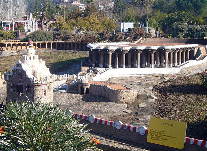 Audioguide of Catalunya in Miniature Park -  Güell Park
