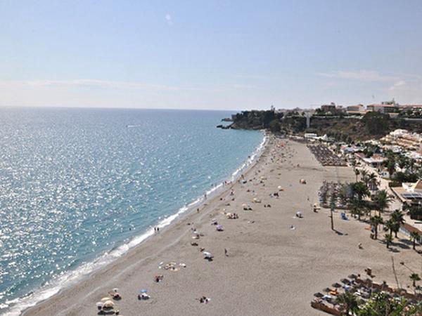 Audioguide of Nerja - Burriana Beach