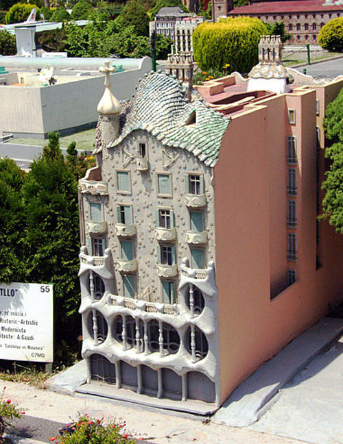 Audioguide of Catalunya in Miniature Park - Casa Batlló