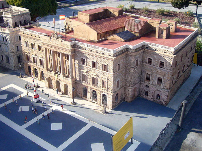 Audioguide of Catalunya in Miniature Park - City Hall of Barcelona