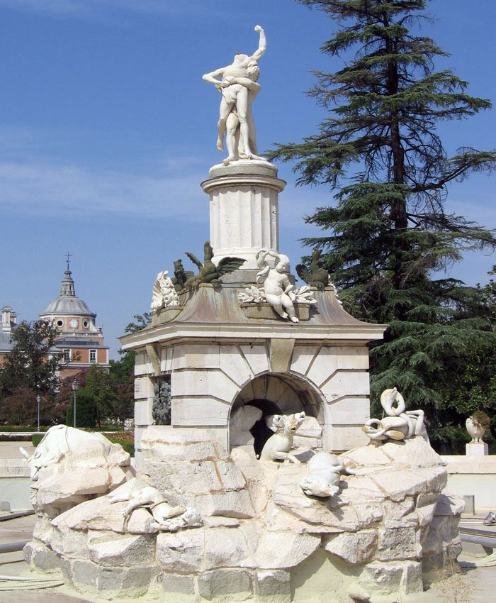 Aranjuez audio guide - The Fountain of Hercules and Antaeus