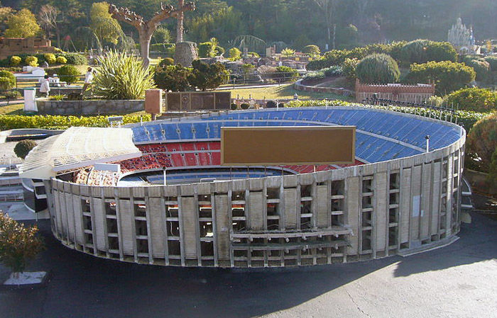 Audioguide of Catalunya in Miniature Park - The Nou Camp