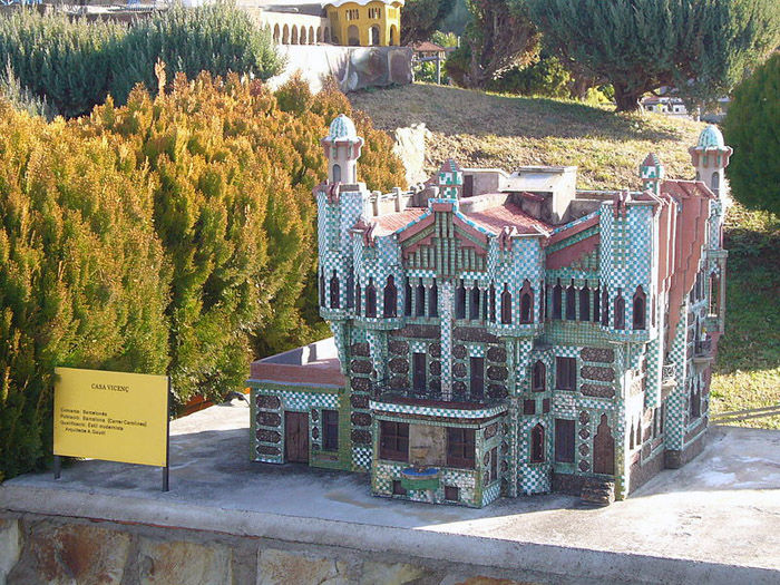 Audioguide of Catalunya in Miniature Park - Casa Vicens