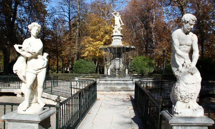 Aranjuez audio guide - The Fountain of Hercules and the Hydra