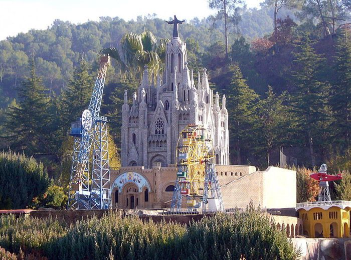 Audioguide of Catalunya in Miniature Park - The Tibidabo
