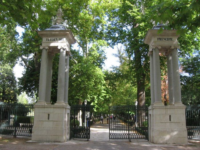 Aranjuez audio guide - The Botanic Garden