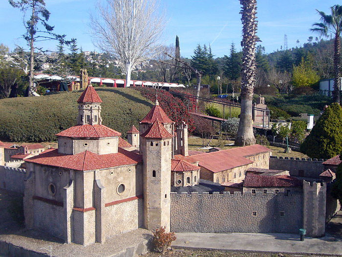 Audioguide of Catalunya in Miniature Park - Poblet Monastery