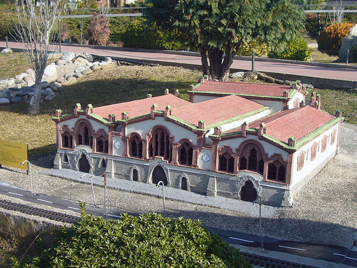 Audioguide of Catalunya in Miniature Park - The Wine Cathedral
