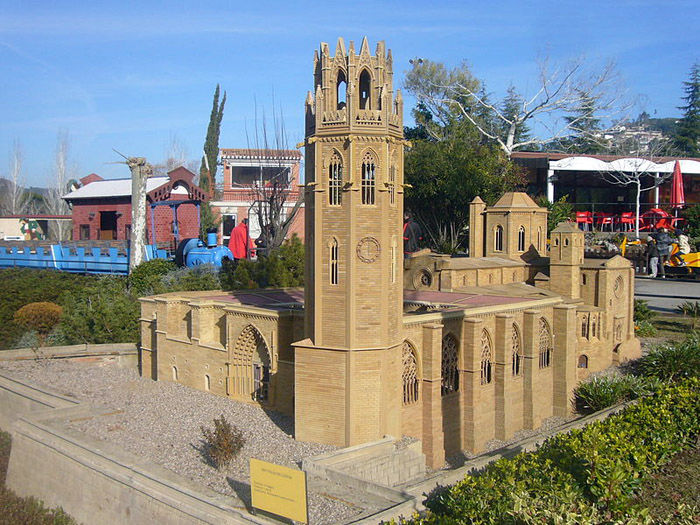 Audioguide of Catalunya in Miniature Park - Lleida Cathedral