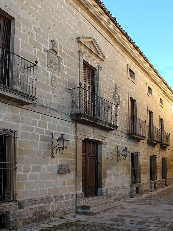 Audioguide of Baeza - The Palace of Rubín of Ceballos