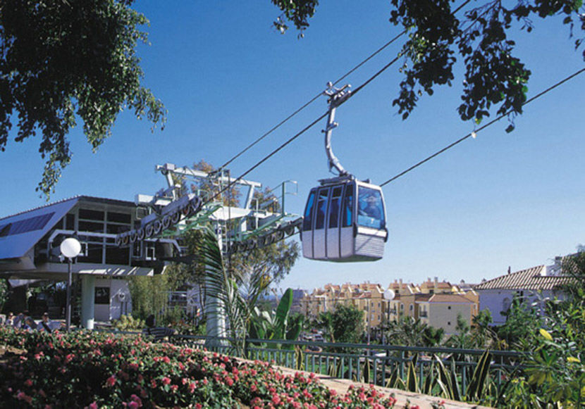 Audio guide of Benalmádena Cable Car  - Start up