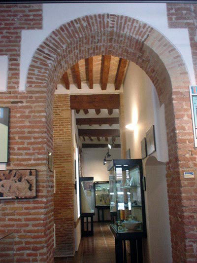 Audio guide of the Museum of Archaeology - Entrance