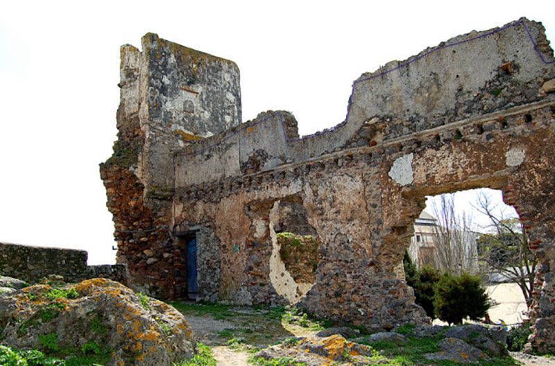 Ruins of the castle and the fortress