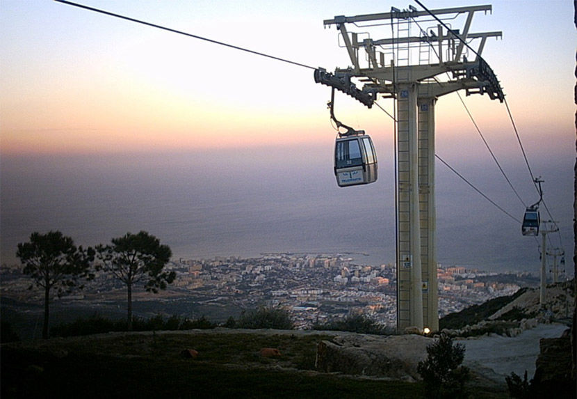 Audio guide of Benalmádena Cable Car - Sunset