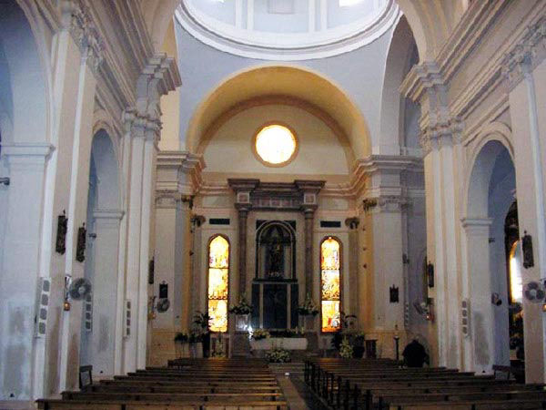 Audioguide of Aguilas - Inside of Parish