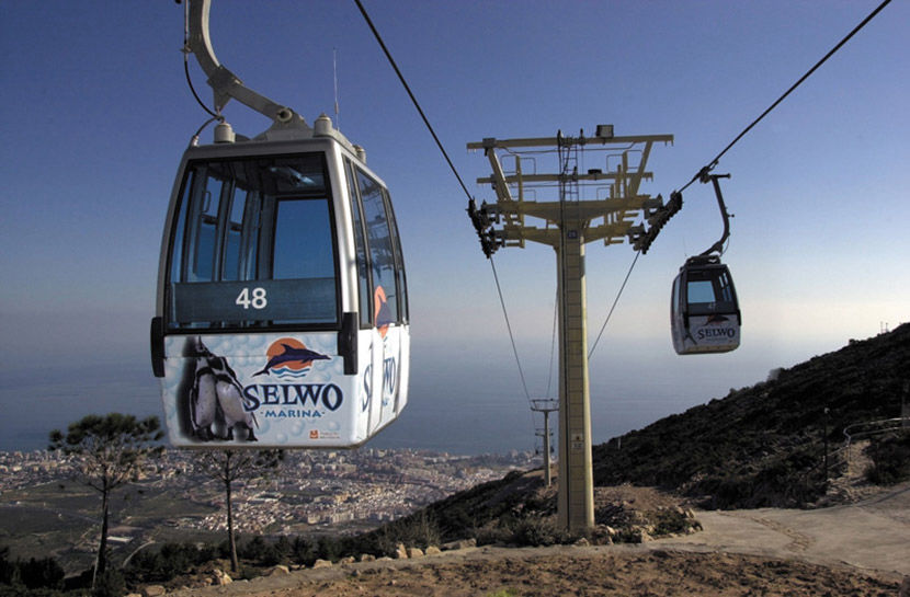 Audio guide of Benalmádena Cable Car - Downturn
