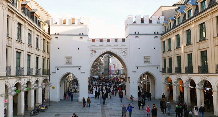 Audioguide of Munich - Karlsplatz and Karlstor Gate (audioguides, audiotour)