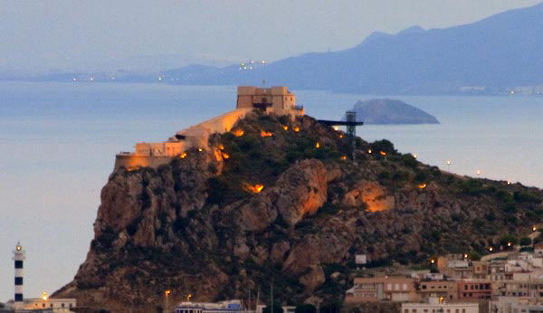 Audioguide of Aguilas - Castle
