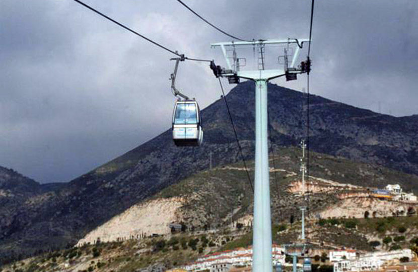 Audio guide of Benalmádena Cable Car  - Arrival