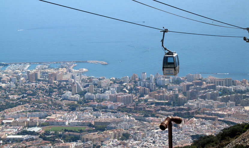 Audio guide of Benalmádena Cable Car  - Town