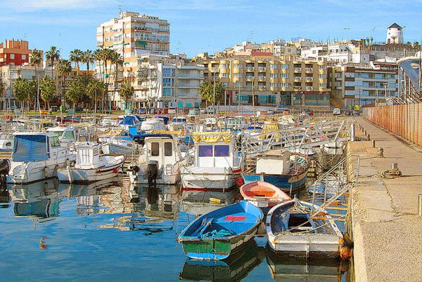 Audioguide of Aguilas - Fishing Port