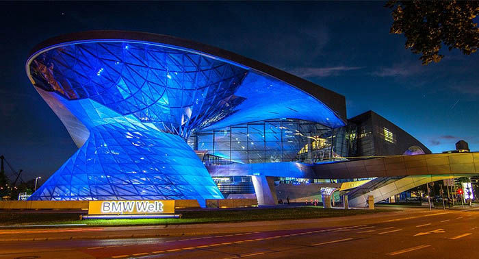 Audioguide of Munich - BMW Museum and BMW Welt (audioguides, audiotour)