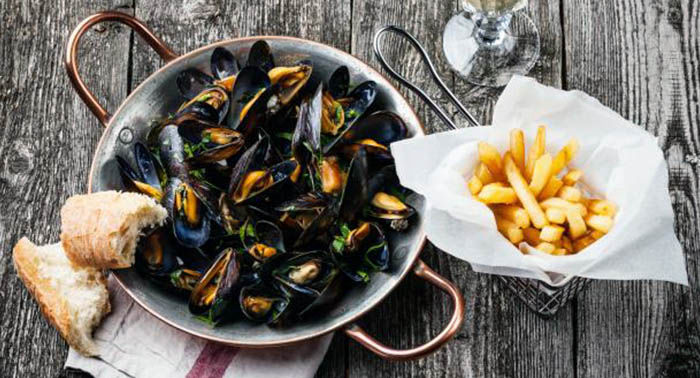 Audioguide of Brussels- mussels and fries (audioguides, audiotour)