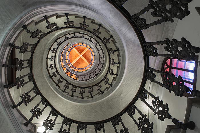 The House of L'Hort and Cardinal Payá  - stairs