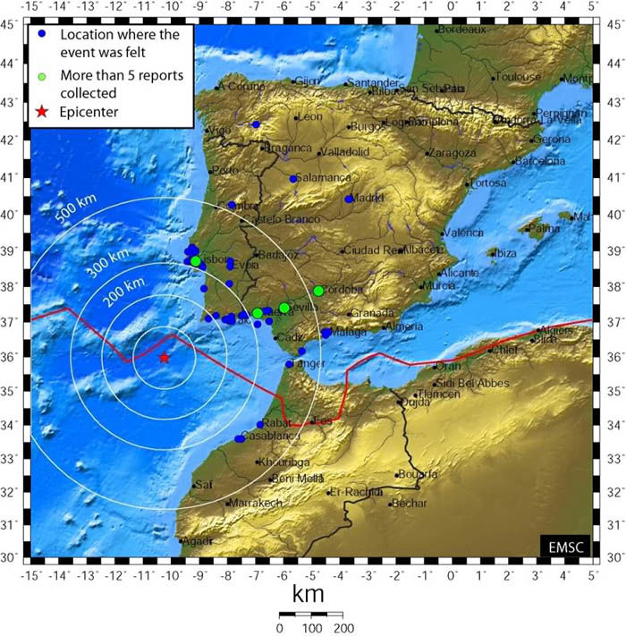 Audioguide of Lisbon - The Earthquake of 1755