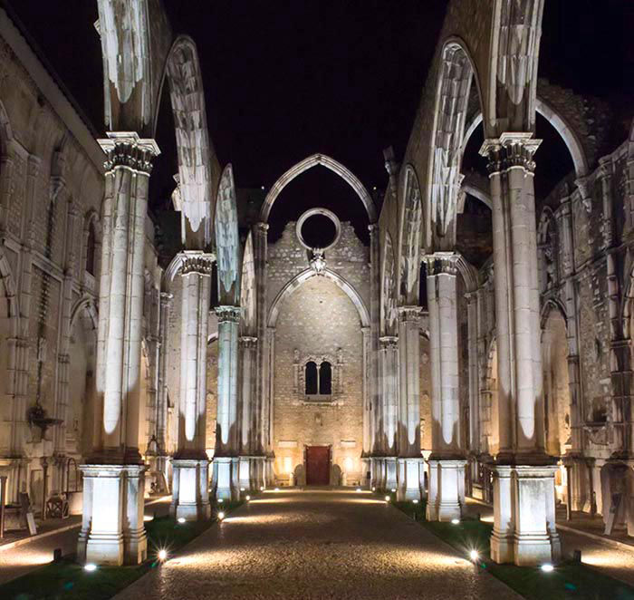 Audioguide of Lisbon - The Carmo Convent