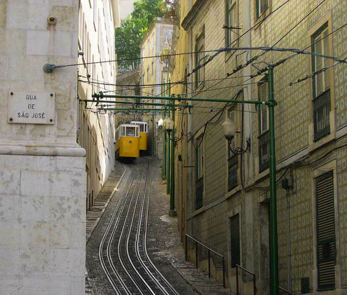 Audioguide of Lisbon - Lavra Lift