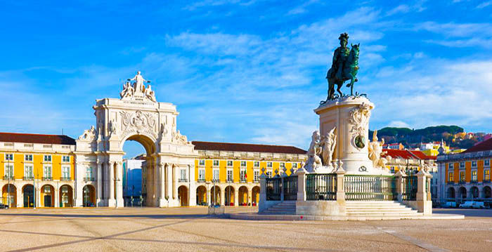 Audioguide of Lisbon - Commerce Square
